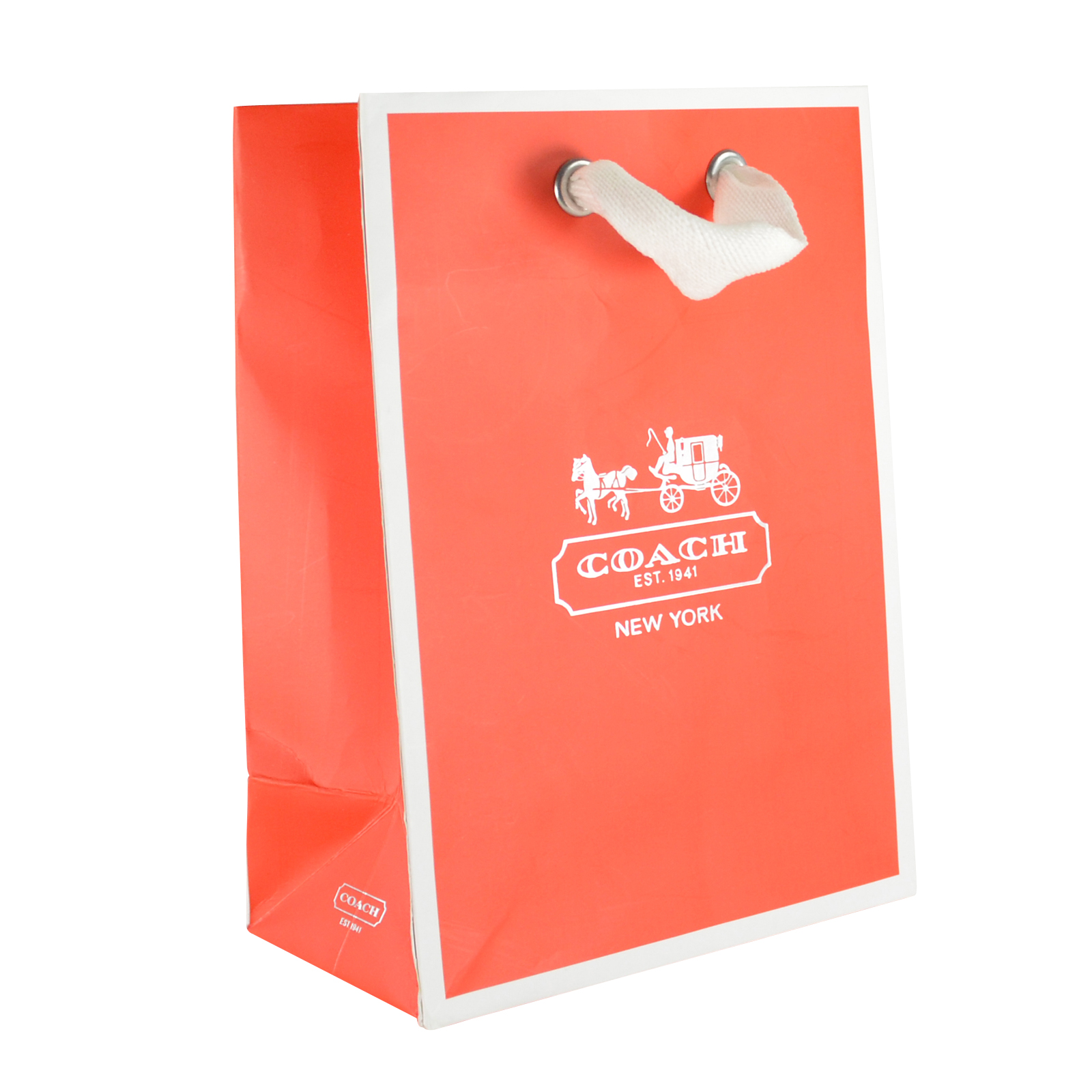 Paper gift bags with logo